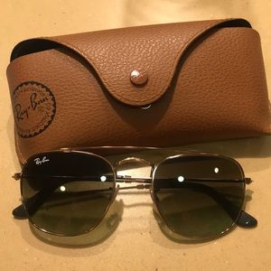 """Authentic Ray-Ban """"General"""" Green/Copper"""